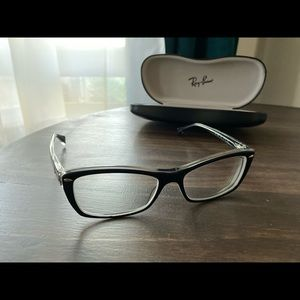 Ray-Ban authentic black frame glasses RB5255